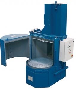 masini de sablare cu masa rotativa