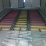 camere de sablare pentru curatarea structurilor metalice